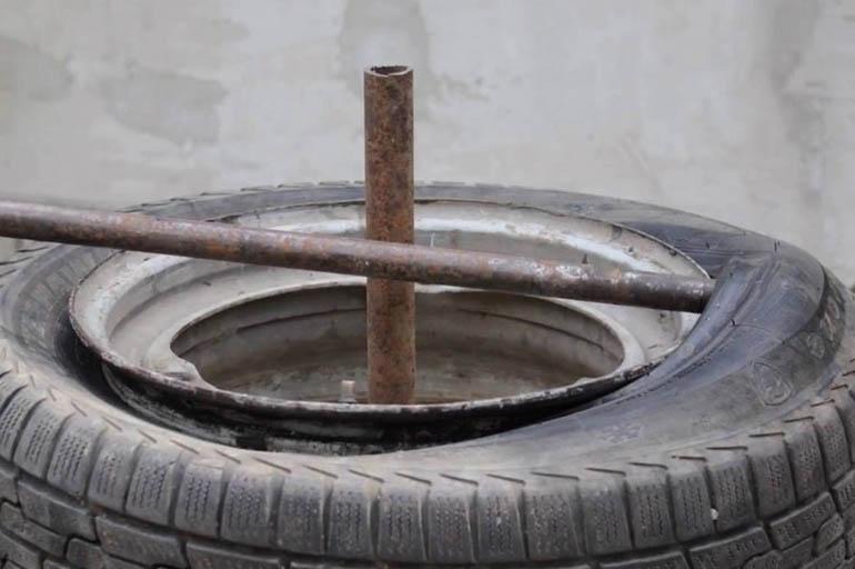 Бескамерная шина