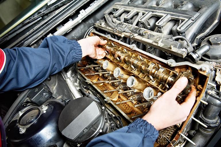 Обследование двигателя