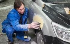 Как пользоваться автомобильной шпаклевкой?